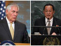 AS Baru Jatuhkan Sanksi, Tillerson Hindari Kontak dengan Menlu Korut