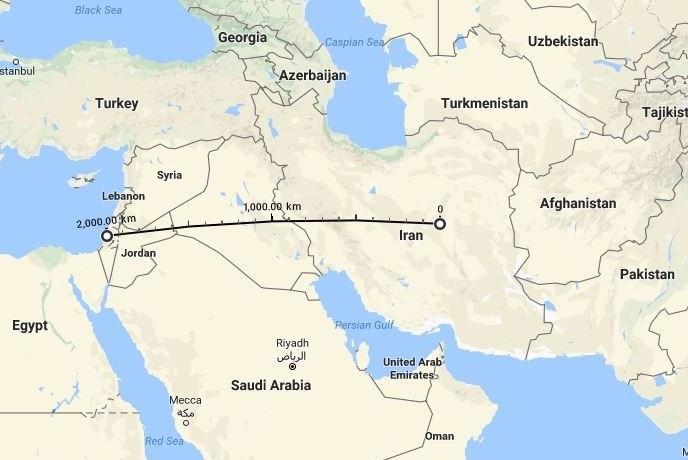 """Ini Dia Rudal-rudal """"Penghancur Israel"""" Milik Iran"""