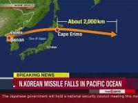Korut Luncurkan Rudal Melewati Pulau Hokkaido, Jepang