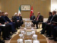 "Bertemu Erdogan, Rouhani Serukan Penyelesaian ""Tragedi Besar "" Rohingya"
