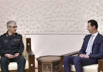Dijumpai Jenderal Iran, Assad Sebut Kekalahan Teroris Pukulan Bagi Barat