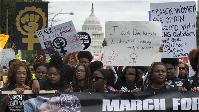 Ribuan Warga Amerika Berdemo Tuntut Keadilan Rasial