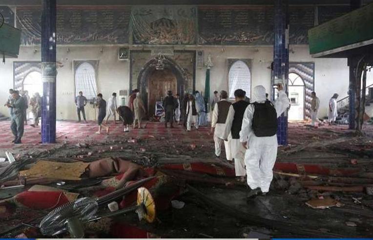 Bom Bunuh Diri Terjang Masjid Sunni dan Syiah di Afghanistan, 63 Orang Gugur