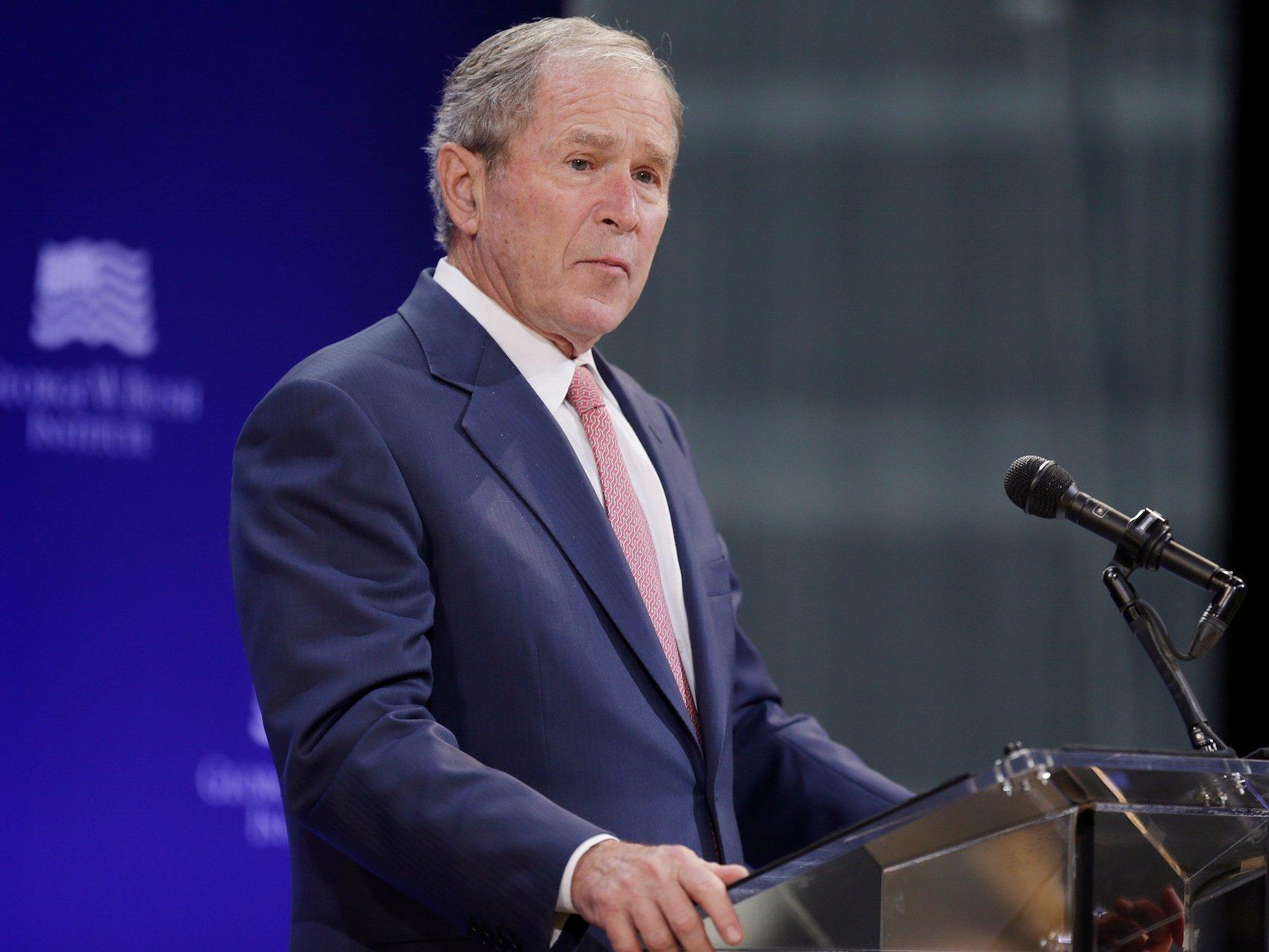 Bush: Radikalisme Semakin Keras di Bawah Pemerintahan Trump