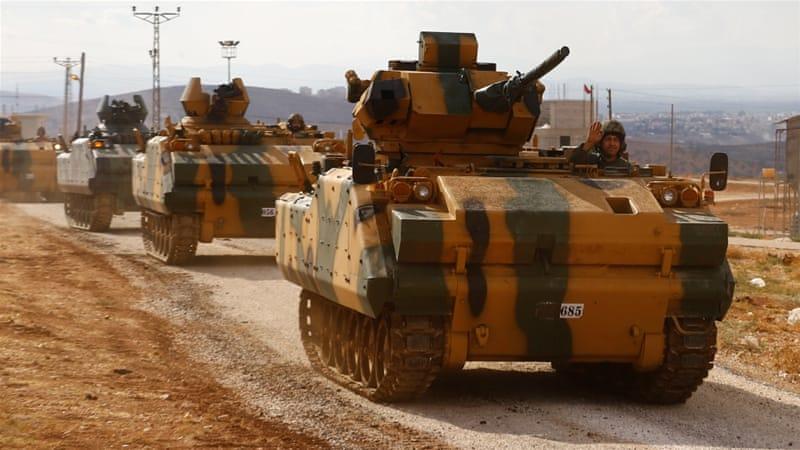 Operasi Terbaru: Militer Turki Mulai Masuki Wilayah Utara Suriah