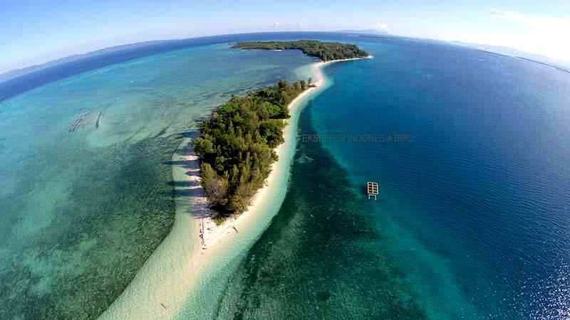 Indahnya Pulau Dodola, Mutiara di Maluku Utara