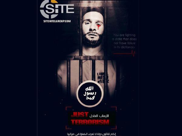 Poster propaganda ISIS