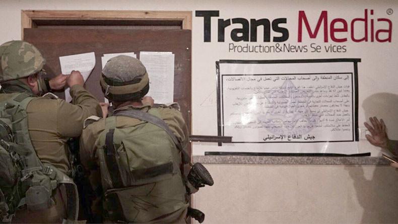 Tentara Israel Lakukan Razia, 8 Kantor Berita Palestina Ditutup Paksa