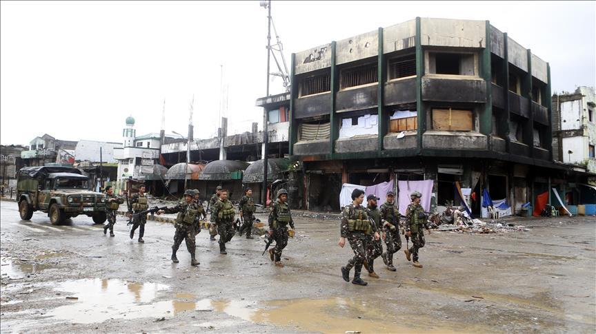Militer Filipina Bersihkan Kota Marawi Dari Kelompok Militan