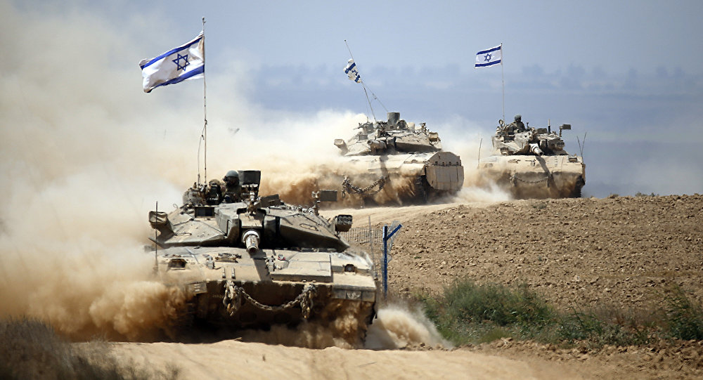 Israel Mendadak Gelar Latihan Militer Dekat Perbatasan Suriah-Libanon