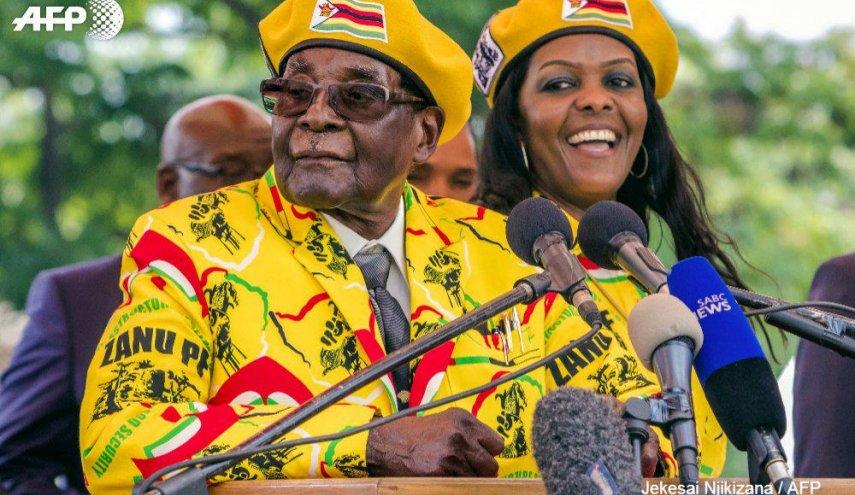 Tentara Zimbabwe Lengserkan Mugabe