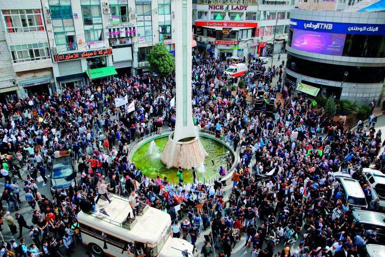 Ribuan Rakyat Palestina Kecam Peringatan Deklarasi Balfour