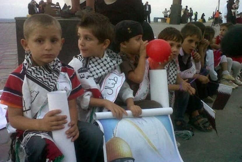 Otoritas Israel Ancam Ratakan Dua Sekolah Rakyat Palestina