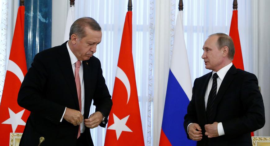 Presiden Turki Minta Tentara Rusia Dan AS Keluar Dari Suriah