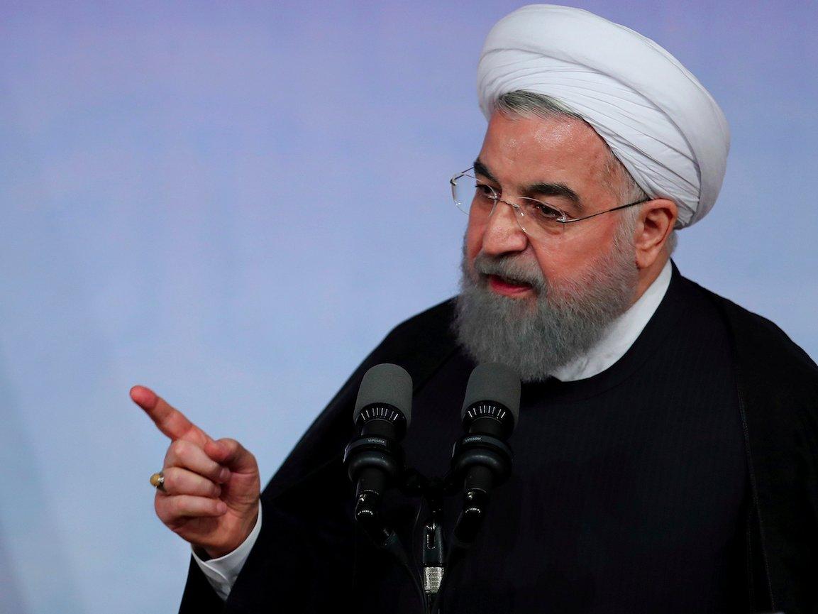 Presiden Rouhani Ingatkan Inggris Resiko Penahanan Kapal Tanker Iran