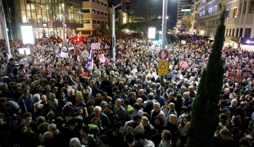 Puluhan Ribu Rakyat Israel Gelar Demonstrasi Melawan Netanyahu