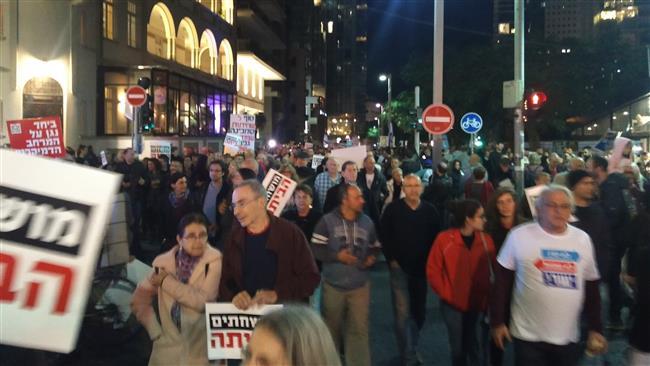 Lagi, Ribuan Warga Israel Berdemo Tuntut Kasus Korupsi Netanyahu