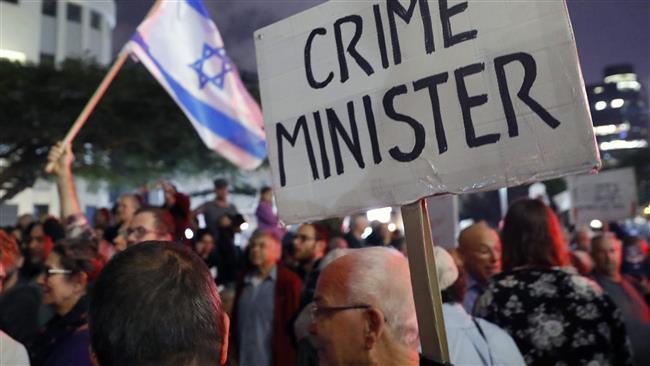 Ribuan Demonstran Tuntut Netanyahu Segera Mundur