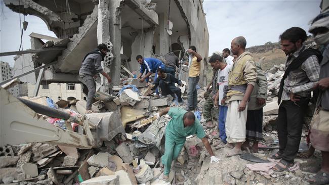 11 Warga Yaman Meninggal Akibat Serangan Udara Saudi