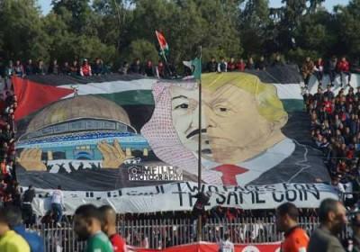 Wajah Salman Disatukan Dengan Wajah Trump Di Aljazair, Ini Reaksi Saudi