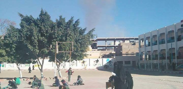 Begini Cara Siswa Di Yaman Menunjukkan Mentalnya Di Depan Serangan Saudi