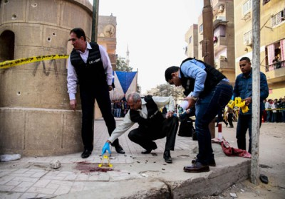 Teroris Serang Gereja Di Mesir, 10 Orang Meninggal