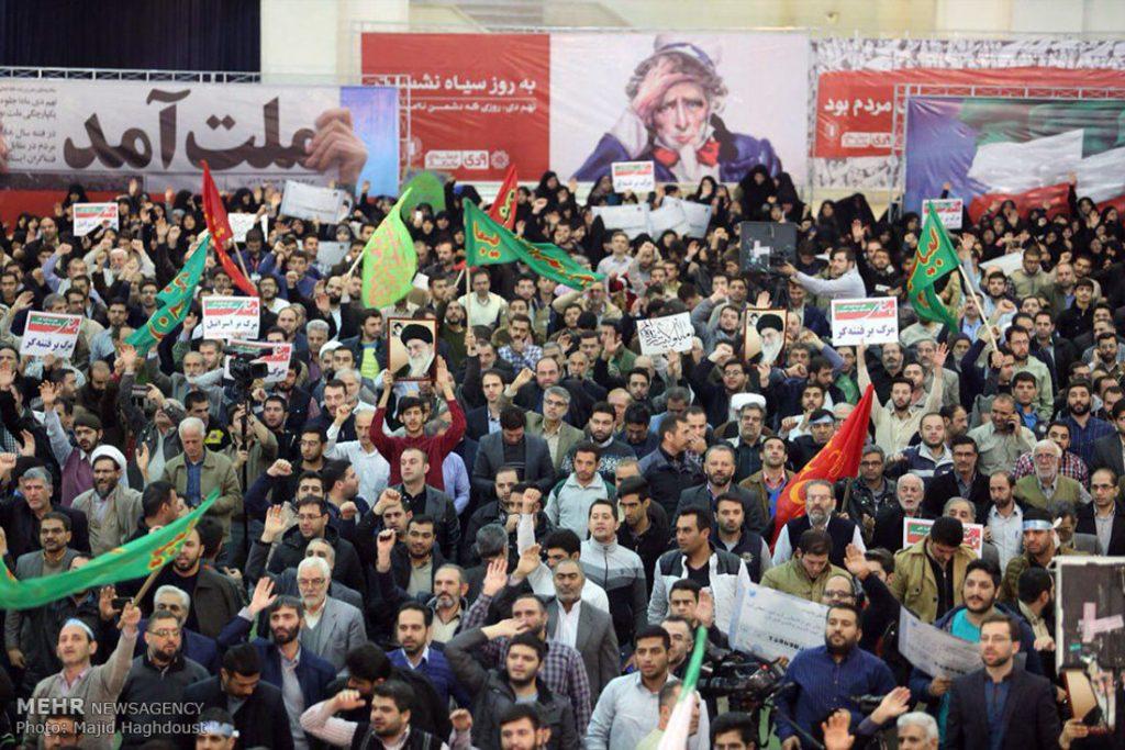Unjuk Rasa Tandingan di Iran Memasuki Hari Kedelapan