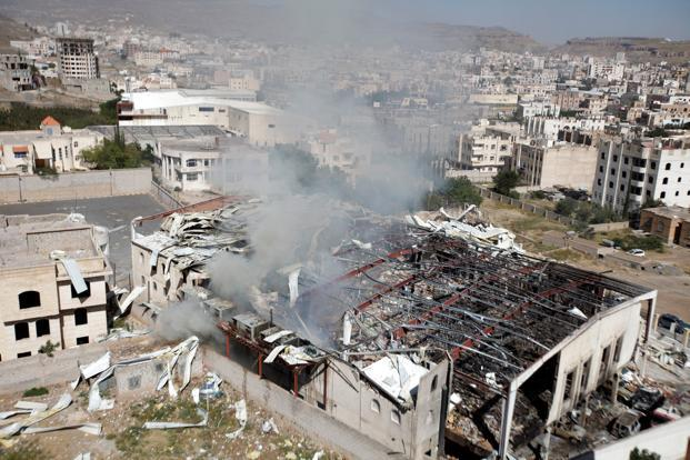 Koalisi Arab Bunuh Dan Lukai 3000 Orang Lebih Di Sanaa