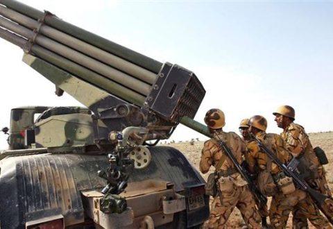Berlatih Perang, Tentara Iran Peringatkan Kapal Perang Pasukan Koalisi Pimpinan AS