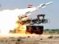 Rudal Suriah Lintasi Angkasa Haifa dan Tel Aviv