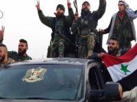 Foto Assad dan Bendera Suriah Berkibar di Afrin