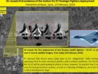 Israel Dibuat Khawatir oleh Keberadaan Sukhoi-57 di Suriah