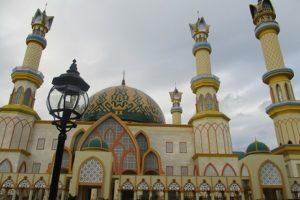 Terpukau Masjid Termegah di Lombok
