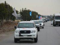 Pengiriman Bantuan ke Ghouta Timur Berjalan Lancar