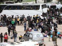 105.000 Lebih Warga Sipil Telah Tinggalkan Ghouta Timur