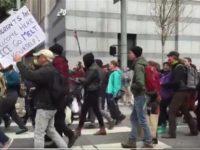 Ratusan Warga AS Demo Penangkapan Imigran
