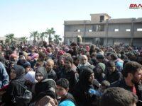 Tentara Suriah Umumkan Pembebasan 70% Wilayah Ghouta Timur