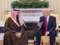 Trump Sebut Bin Salman Berkutu!