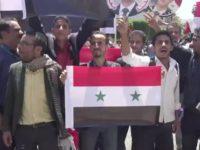 Penduduk Yaman Tunjukkan Solidaritas Untuk Suriah