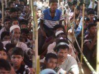 Potret para pengungsi Rohingya di Kamp Kutupalong, Bangladesh.