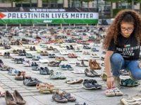 Kenang Syuhada Palestina, Ribuan Sepatu Ditata di Depan Kantor UE