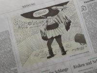 Karikaturis Jerman Dipecat Lantaran Membuat Karikatur Netanyahu