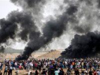 Demo Jumat ke-6, Pasukan Israel Lukai Ratusan Warga Gaza