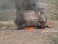 Ansarullah Hancurkan Tank dan Mobil Militer Saudi