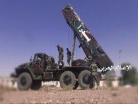 Pasukan Yaman Gempur Saudi Dengan Rudal Badr 1