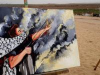 Seniman Palestina, Berjuang Melawan Penjajahan dengan Lukisan
