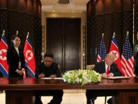 Trump dan Kim Tandatangani 'Dokumen Bersejarah'