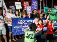 Ribuan Warga Israel Demo RUU yang Rasis Terhadap Orang Arab