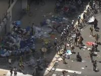 Aksi Demo Imigrasi Ricuh, Polisi AS Tangkap Belasan Orang