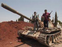 Kawanan Bersenjata Di Suriah Serahkan 11 Tank Dan Lain-Lain
